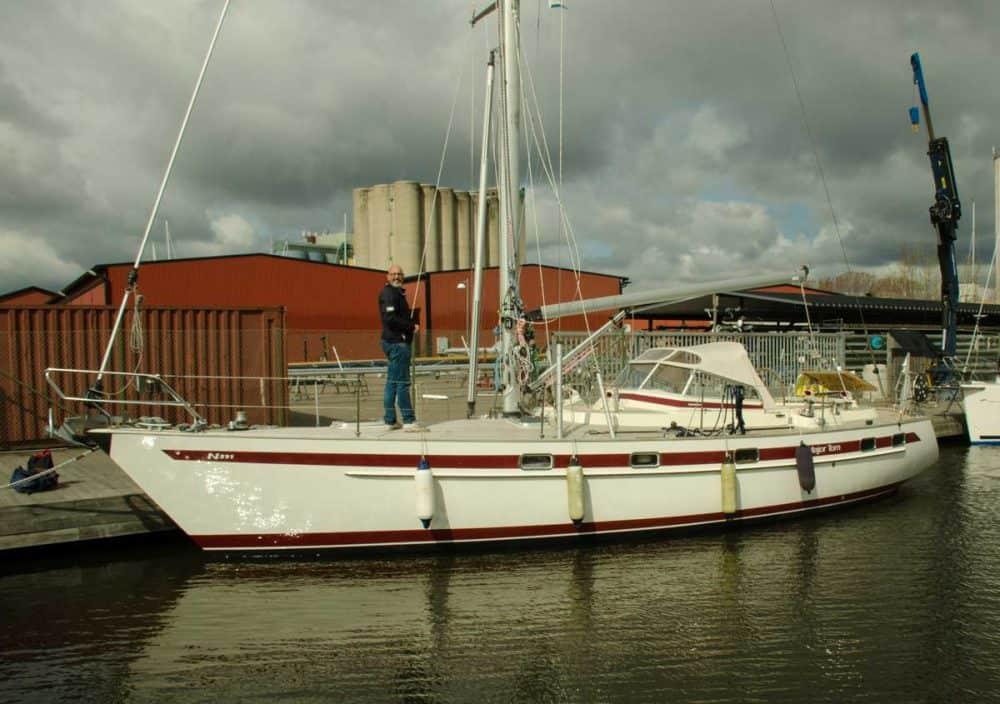 segelbåt majortom