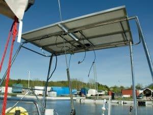 båge för solceller