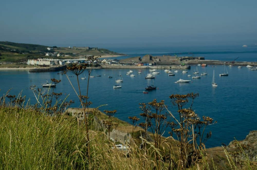 hamnen på Alderney