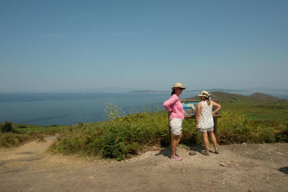 view illa de ons