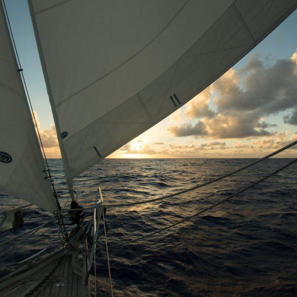 segelbåt atlanten