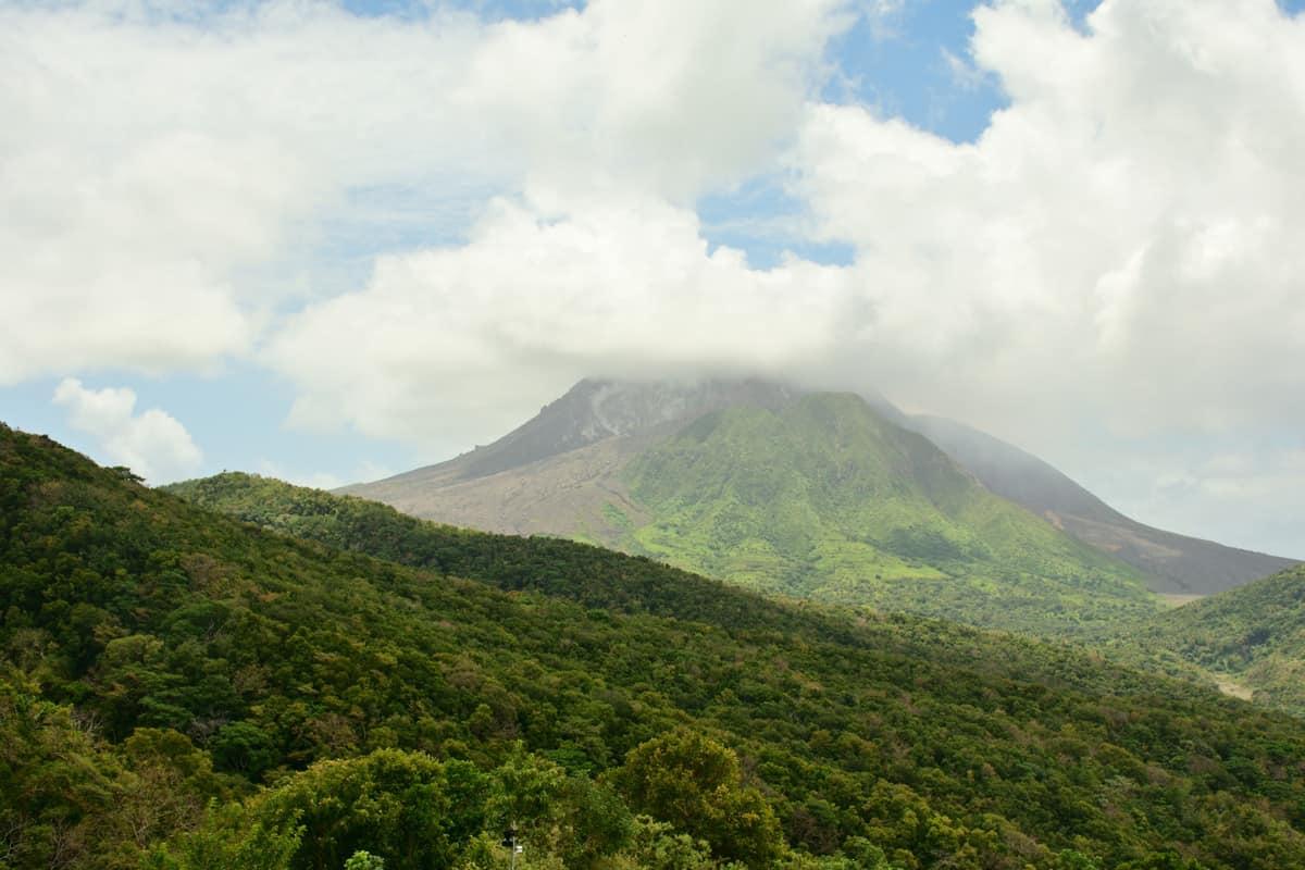 Vulkan på montserrat