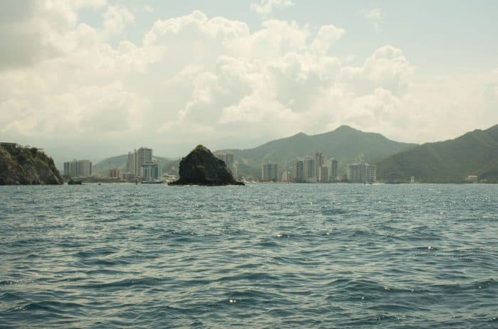 santa marta from the sea